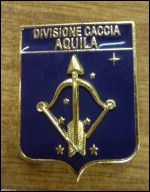 Distintivo smaltato divisione caccia Aquila - AM
