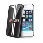 Nilox NXMM93CI4B Cover Case Apple Iphone 4/4S Nero