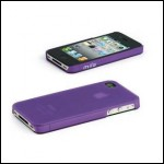MIIA AC-AA-IPH4S-TW soft case IPHONE 4/4S VIOLA