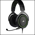 Gaming headset with HS50 PRO STEREO microphone, Green