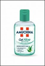 AMUCHINA GEL ALOE IGIENIZZANTE PER MANI 80ml