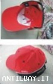 Cappellino rosso Golf GTI Baseball cap originale NUOVO