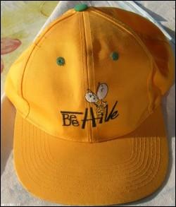 Cappellino giallo BEE HIVE cap originale NUOVO E BELLIS