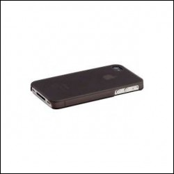 MIIA AC-AA-IPH4S-TV soft case IPHONE 4/4S NERO