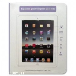 Start Pellicola Screen Protector Vetro Temperato iPad