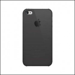 ILUV ICC743 TRANSLUCENT case per iPhone 4 Nero