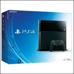 Sony PlayStation 4 500GB Jet Black  nuovo