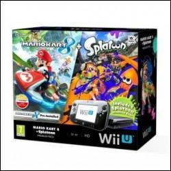 Nintendo Wii U Mario Kart 8 + Splatoon