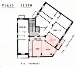 MILANO Affitto Bilocale Arredato v.Cavalcanti ad.Loreto