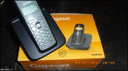 TELEFONO CORDLESS NUOVO E IMBALLATO GIGASET