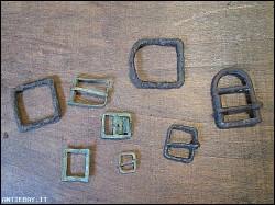 antiche fibbie (A-45)