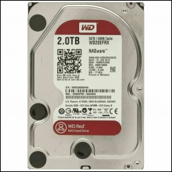 """HDD 2TB WD Red NASware 3.0 64MB 5400rpm SataIII 3.5"""""""
