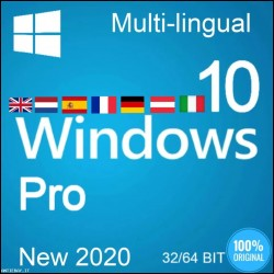 Windows 10 Pro 32/64 Bit licenza digitale