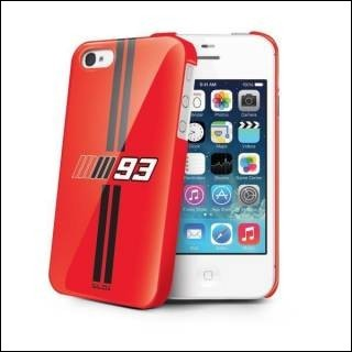 Nilox NXMM93CI4R Cover Case Apple Iphone 4/4S Rosso