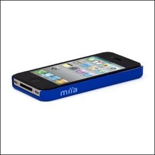 MIIA AC-AA-IPH4S-KL soft case IPHONE 4/4S BLU