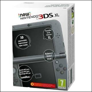Nintendo 3DS XL Nero nuovo