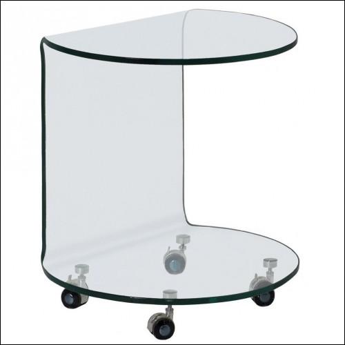 Tavolino Moved vetro curvato