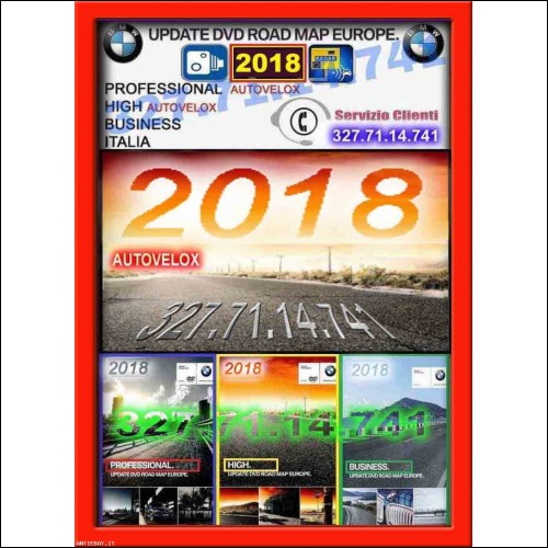 dvd bmw 2018 cd aggiornamento navigatore bmw 2018 mappa