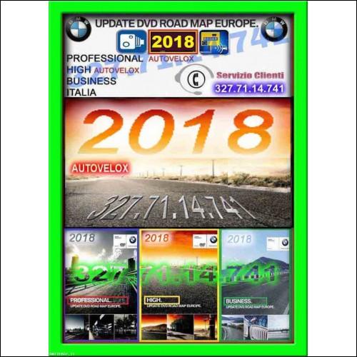 dvd cd bmw 2018 navigatore mappe navigazione mappa bmw
