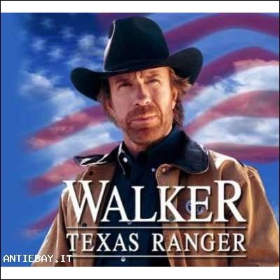 Walker Texas Ranger, Chuck Norris, Serie completa
