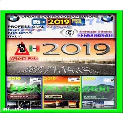 dvd cd bmw 2019 navigatore mappe navigazione mappa bmw