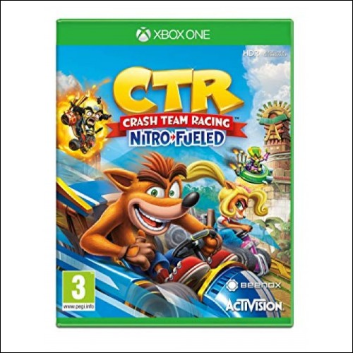 Crash nitro fueled Ctr Xbox one account