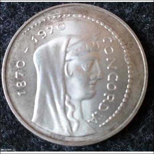 1000 lire concordia 1970