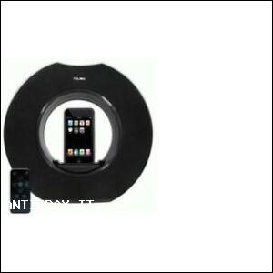 Round Station R3 Moto-Revolving Speaker per iPod/iPhon