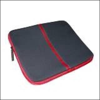 "Skin Laptop Notebook Nero-Rosso 12.1"""