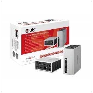 SenseVision Mini Dock Station USB3.0 4K UHD DVI/HDMI
