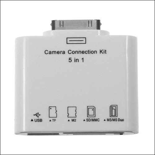 Il kit di connessione fotocamera 5 in 1 adatto per iPad
